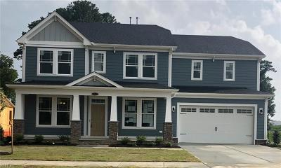 Virginia Beach Single Family Home Under Contract: Lot 55 Kingsfield Dr