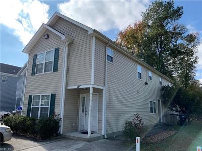 Virginia Beach Multi Family Home For Sale: 101 S Palm Ave