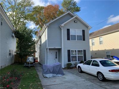 Virginia Beach Multi Family Home For Sale: 103 S Palm Ave
