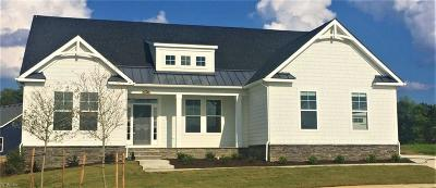 Virginia Beach Single Family Home Under Contract: Lot123 Last Harvest Cres