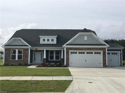Virginia Beach Single Family Home Under Contract: Lot114 Jimmy Mobely Way