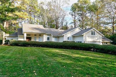 Virginia Beach VA Single Family Home New Listing: $1,099,000