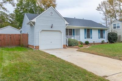 Chesapeake Single Family Home New Listing: 3521 Bernies Ct N