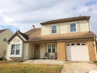 Virginia Beach Single Family Home New Listing: 3288 Winterberry Ln