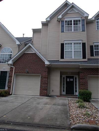 Virginia Beach Single Family Home New Listing: 5420 Summer Cres
