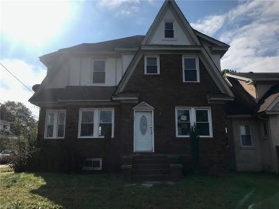Norfolk Single Family Home Under Contract: 829 Lamont St