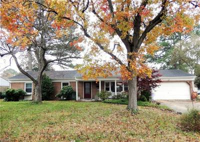 Virginia Beach Single Family Home New Listing: 5333 Hamilton Ln