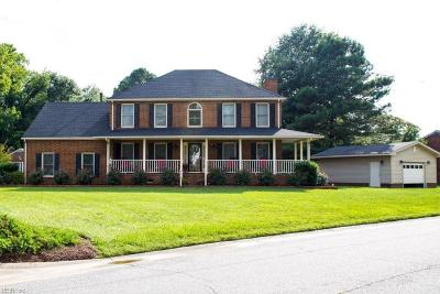 Suffolk Single Family Home New Listing: 2517 Woodland Trl