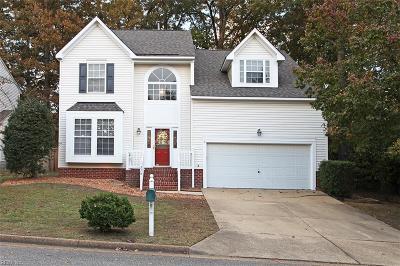 Newport News Single Family Home For Sale: 218 Southlake Pl