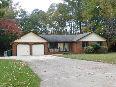 Suffolk Single Family Home Under Contract: 6141 Knotts Creek Ln