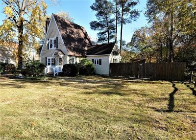 Newport News Single Family Home For Sale: 91 Shoe Ln