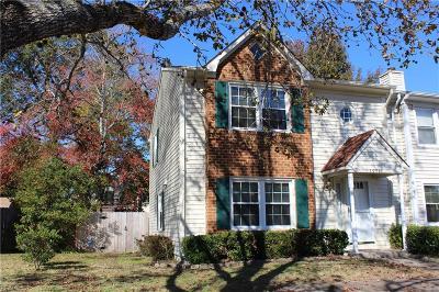 Virginia Beach VA Single Family Home New Listing: $155,000
