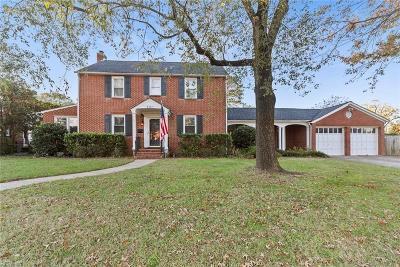 Hampton Single Family Home For Sale: 4303 Chesapeake Ave