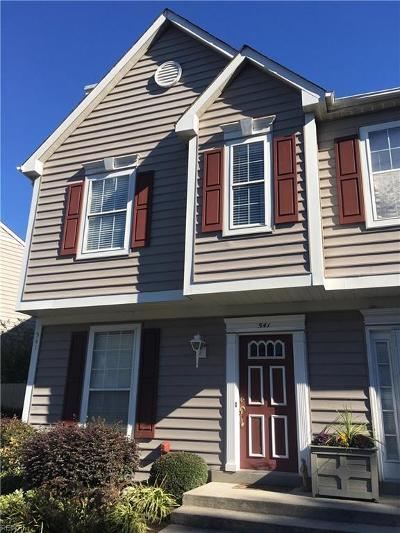 Virginia Beach VA Single Family Home New Listing: $208,800