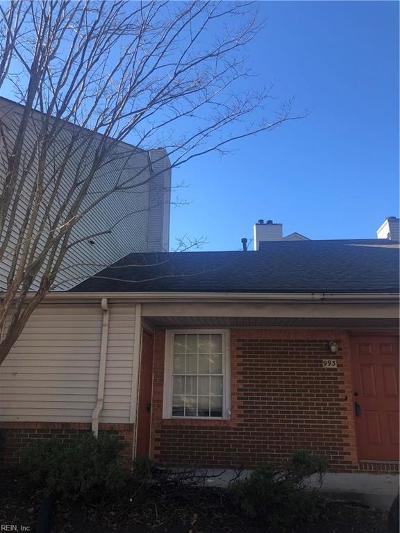 Virginia Beach VA Single Family Home New Listing: $115,000