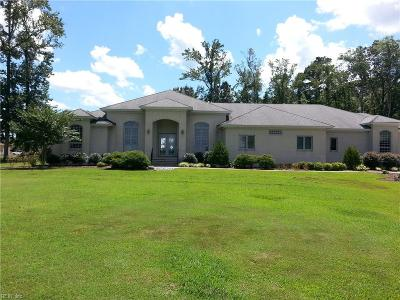 Virginia Beach Single Family Home For Sale: 6489 Crags Cswy