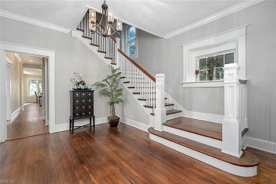 Norfolk Single Family Home For Sale: 1145 Jamestown Cres