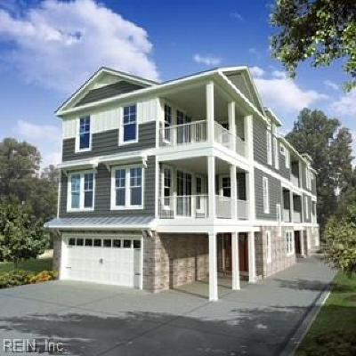 Virginia Beach Single Family Home For Sale: 113 65th St #A