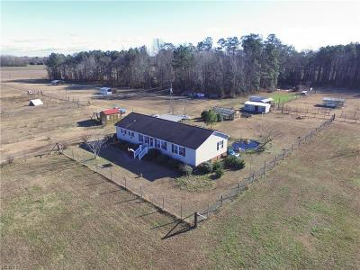 Suffolk Single Family Home For Sale: 2505 Pittmantown Rd