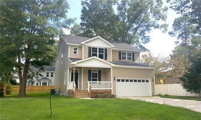 Virginia Beach Single Family Home For Sale: 404 Patton Ln