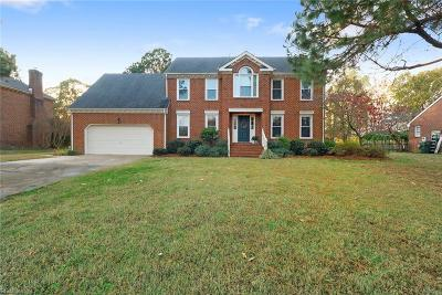 Suffolk Single Family Home For Sale: 4792 Schooner Blvd
