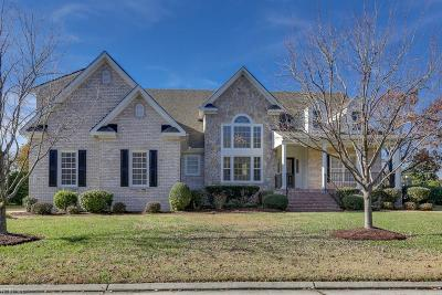 Suffolk Single Family Home For Sale: 5300 Marsh Landing Ln