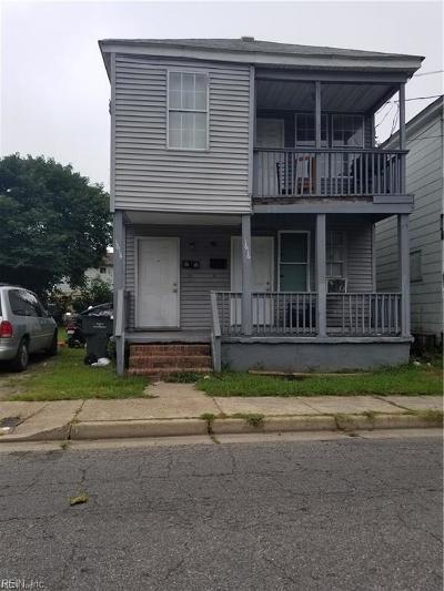 Norfolk Multi Family Home For Sale: 1614 Berkley Ext Ave