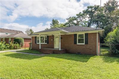 Single Family Home For Sale: 4111 Reid St