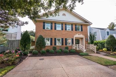 Virginia Beach Single Family Home For Sale: 108 44th St