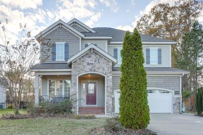 Suffolk Single Family Home For Sale: 3418 Raintree Cir Cir