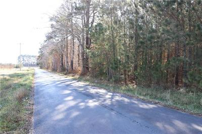 Northampton County, Accomack County Land/Farm For Sale: 10644 Tb Rd