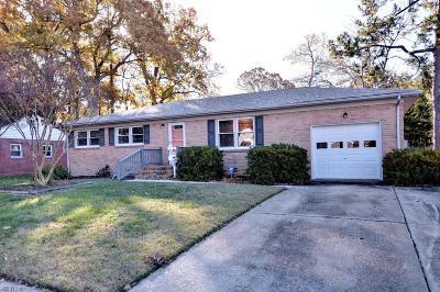 Newport News Single Family Home For Sale: 294 Malden Ln