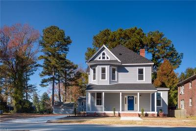 Suffolk Single Family Home For Sale: 203 Park Rd
