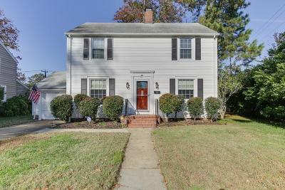 Newport News Single Family Home For Sale: 57 Stratford Rd