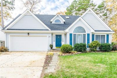 Virginia Beach Single Family Home New Listing: 316 Golden Maple Dr