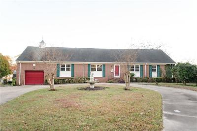 Hampton Single Family Home For Sale: 34 Curle Rd