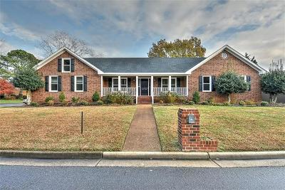 Norfolk Single Family Home For Sale: 7030 Hunters Chse