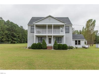 Suffolk Single Family Home For Sale: 356 Collins Rd