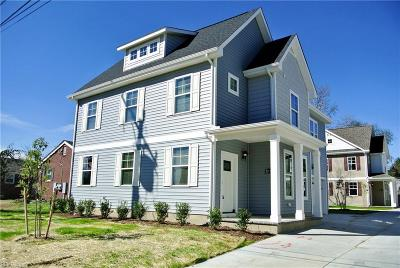 Norfolk Single Family Home For Sale: 8011 Woodall Rd #A