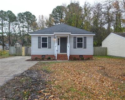 Single Family Home For Sale: 4401 Taylor Rd