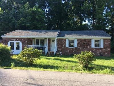 Suffolk Single Family Home New Listing: 2116 Arizona Ave