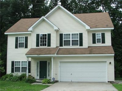 Western Branch Single Family Home For Sale: 5025 John St