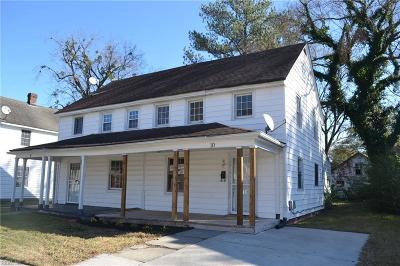 Portsmouth Multi Family Home Under Contract: 10 Decatur St