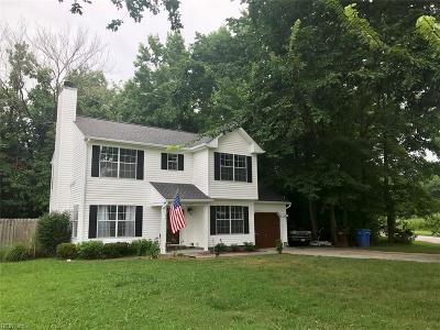 Chesapeake Single Family Home For Sale: 1237 Richwood Ave