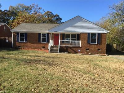Single Family Home For Sale: 2404 Haywood Ave
