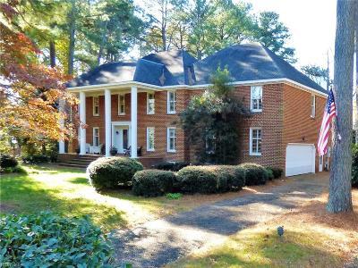 Virginia Beach Single Family Home For Sale: 4105 Roenker Lane