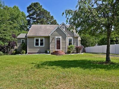 Portsmouth Single Family Home For Sale: 4308 Winchester Dr