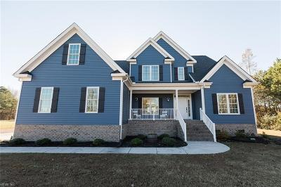 Chesapeake Single Family Home For Sale: 3909 Cornland Rd