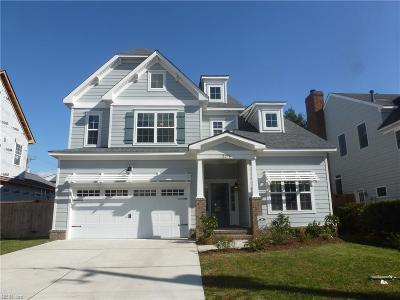 Virginia Beach Single Family Home New Listing: 2276 Hatton St