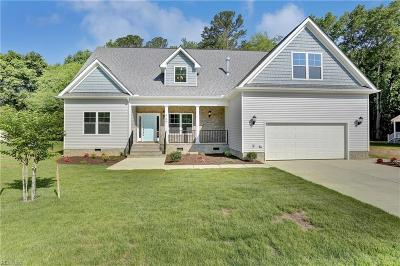 Newport News Single Family Home New Listing: 549 Taliaferro Rd